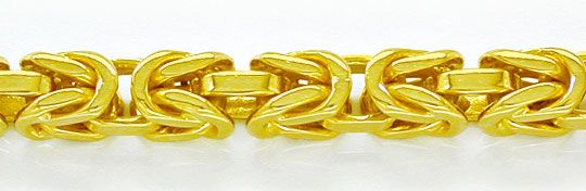 Foto 1, Königskette massiv Gelbgold 18K/750 89Gramm Luxus! Neu!, K2860