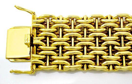 Foto 1, Gelbgold Armband, seltene 1A Designer Arbeit Luxus! Neu, K2881