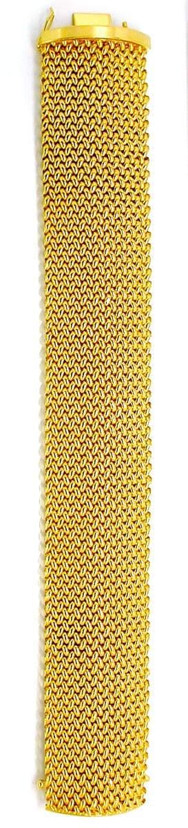 Foto 3, Gelbgold Armband, Klassisches Topdesign 18K Luxus! Neu!, K2884