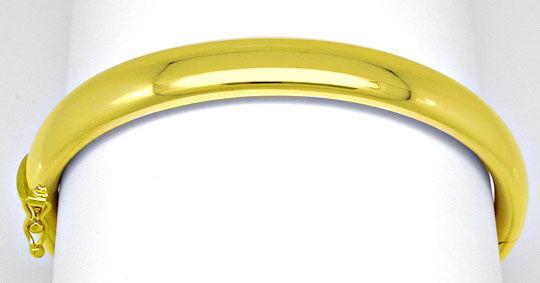 Foto 1, Gelbgold Armreif Top Kastenverschluss 14K/585 Shop Neu!, K2900