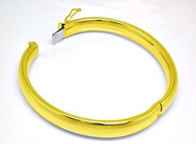 Foto 2, Gelbgold Armreif Top Kastenverschluss 14K/585 Shop Neu!, K2900