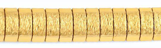 Foto 2, Goldkette Goldkollier Gravurmuster, 18K Gelbgold Luxus!, K2903