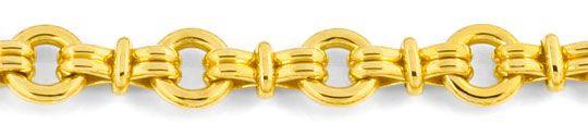 Foto 2, Designer Goldkette massiv Gelbgold 18K/750, Luxus! Neu!, K2934