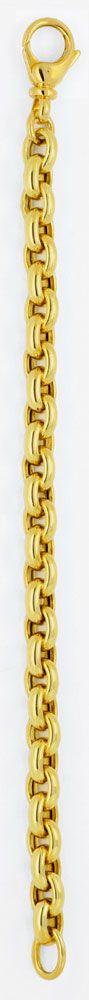 Foto 3, Anker Goldarmband Gelbgold Riesen Karabiner, 14K Luxus!, K2942