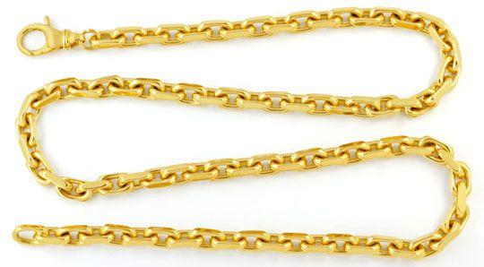 Foto 1, Ankerkette massiv Gelbgold 18K/750 143 Gramm Luxus! Neu, K2949