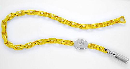 Foto 1, Designer Armband Original Baraka Bicolor 18K Luxus! Neu, K2960