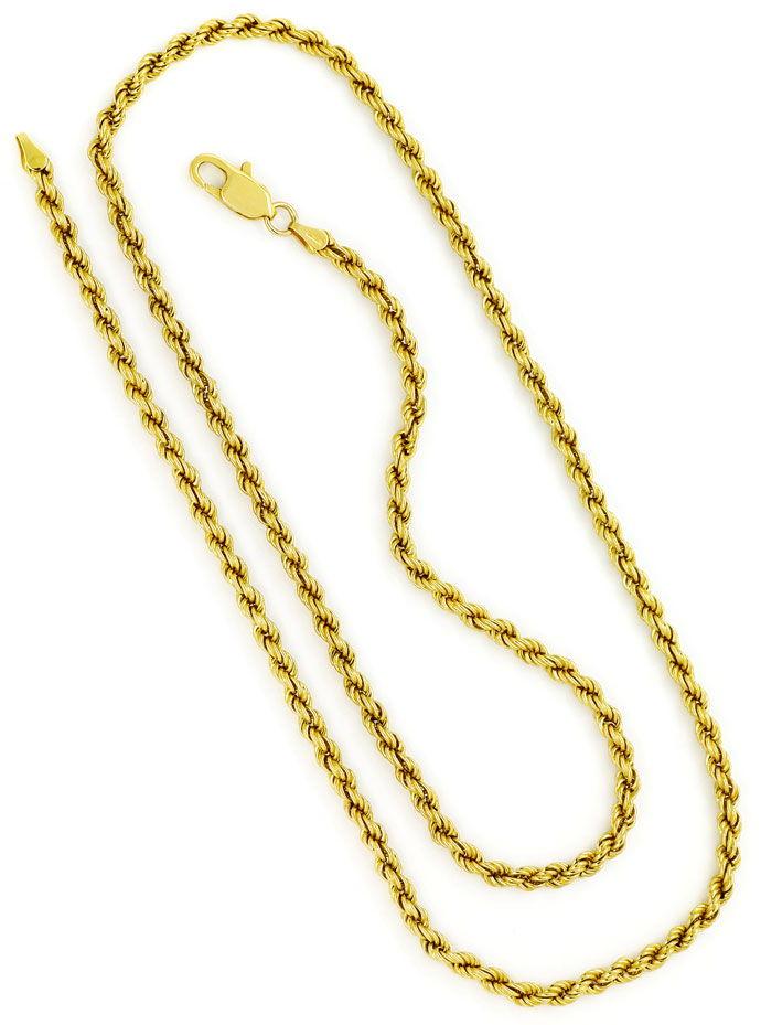HERREN KÖNIGSKETTE GOLD ANHÄNGER VERSACE GOLD 585 14 KARAT LUXUS