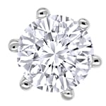 Diamantohrstecker mit 0,53ct River Brillanten Weissgold