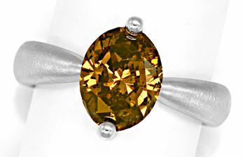 Foto 1, Edler Designer Diamantring 3,02ct Diamant IGI Expertise, Q0507
