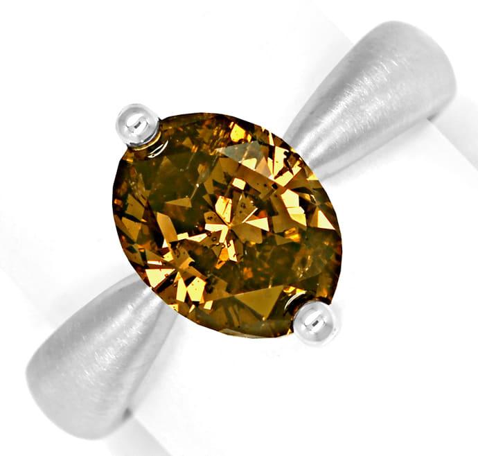 Foto 2, Edler Designer Diamantring 3,02ct Diamant IGI Expertise, Q0507