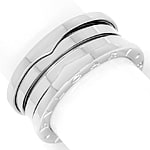 Bulgari BVLGARI 3 Band Ring B.Zero 1 in 750er Weissgold
