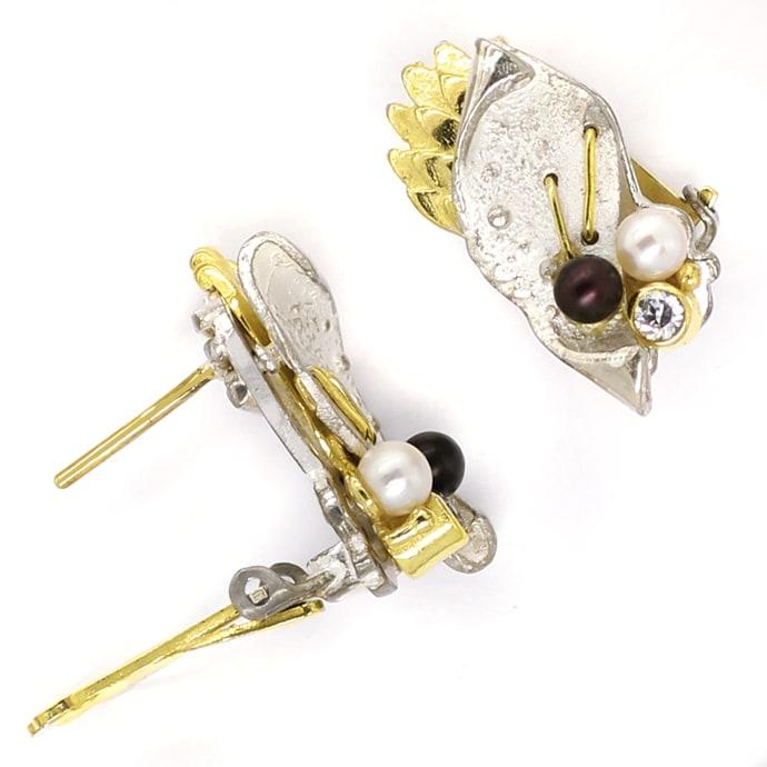 Foto 2, Schmuckset Ring Ohrringe Armreif Kette Anhänger Brosche, Q0706