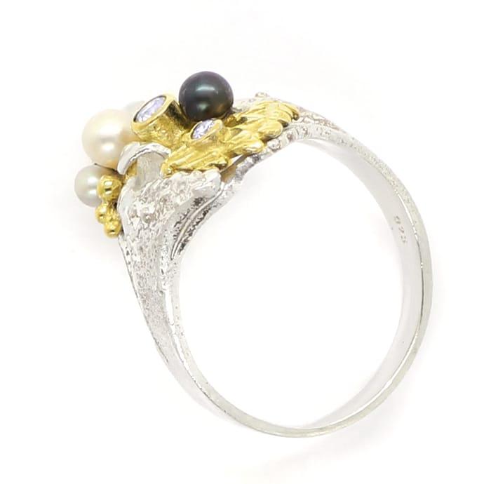 Foto 4, Schmuckset Ring Ohrringe Armreif Kette Anhänger Brosche, Q0706