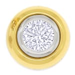 Diamant Ohrstecker mit 0,74ct Brillanten in 18K Gold