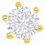 Krappenohrstecker 0,43ct Brillanten 18K Gold
