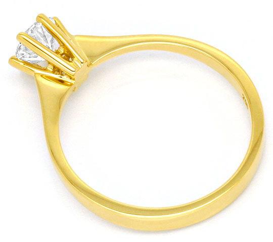 Foto 3, Brilliant Krappen Ring DPL 0,54 Top Wesselton Lupenrein, R1177