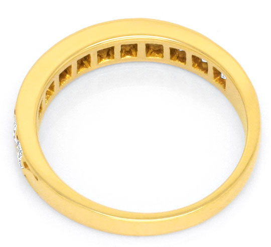 Foto 3, Cartier Halbmemory Diamantring 18K Ring Jonc All Oj/Dts, R1198