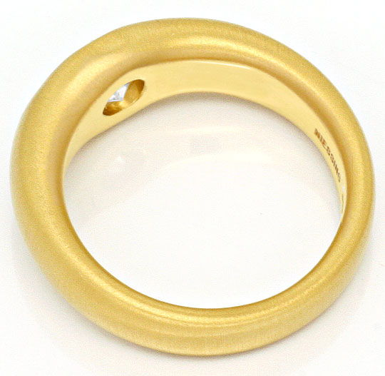 Foto 3, Niessing 1,34Carat Einkaraeter Brillant Ring 900Er Gold, R2058
