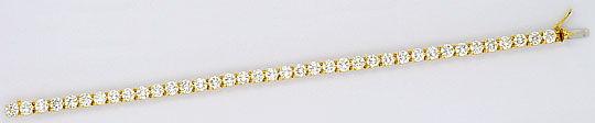 Foto 1, Cartier Tennis Armband Bracelet 7,60 ct River Lupenrein, R2096