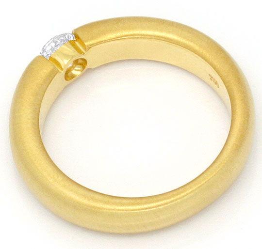 Foto 3, Diamantspannring 0,38ct Brillant Wesselton 18K Gelbgold, R2451