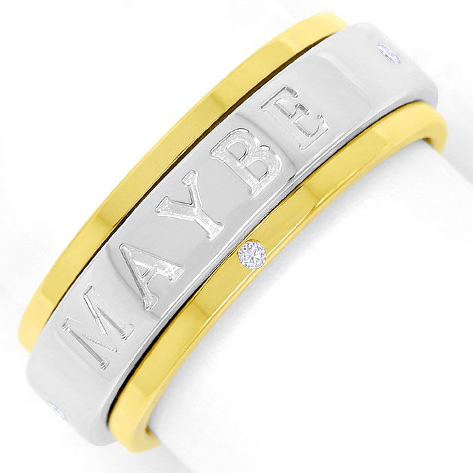 Foto 2 - Piaget Possession Spielring MAY BE YES NO mit Diamanten, R2619
