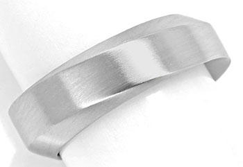 Foto 1, Niessing Designer Ring 6,5mm breit in massiv 950 Platin, R3218