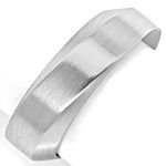 Niessing Designer Ring 6,5mm breit in massiv 950 Platin