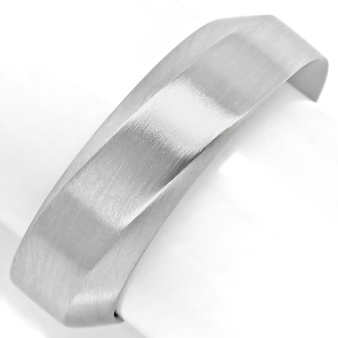 Niessing Designer Ring 6,5mm breit in massiv 950 Platin, aus Designer Goldringe Platinringe