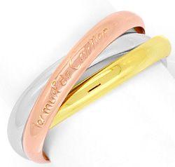Foto 1 - Les Must.de Cartier Trinity Tricolor Goldring Grösse 63, R3285