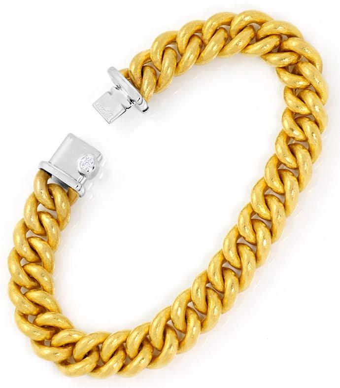 Foto 3 - Münzgold Platin Diamanten Rundpanzerkollier und Armband, R3401