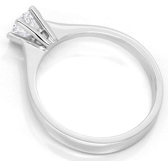 Foto 3 - Brillant Krappen Ring Halbkaräter Solitär IGI Gutachten, R3649