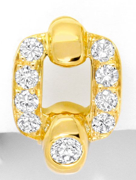 Foto 5 - Cartier Set Ring Ohrringe Nymphea, Brillanten, Gelbgold, R3843