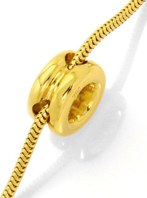 Foto 3 - Diamantkollier Halbkaräter Brillantsolitär 18K Gelbgold, R4157