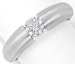 Foto 1 - Diamantspannring Halbkaräter 0,52 River D 18K Weissgold, R4176