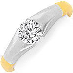 Design Brillant Spannring 0,71ct Top Wesselton 18K Gold