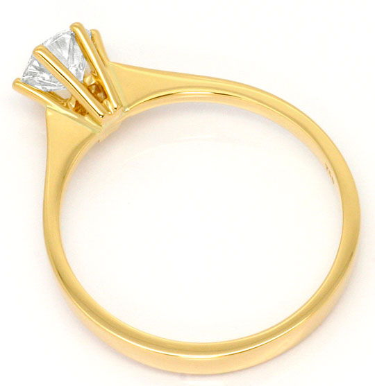 Foto 3, Brillant Ring 0,60ct Lupenreiner Solitaer IGI Expertise, R5098
