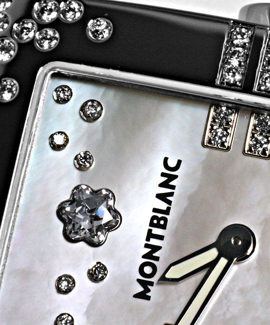 Foto 3, Montblanc Profile Lady Elegance Diamonds Perlmutt Damen, R5492