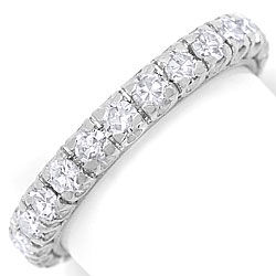 Foto 1 - Vollmemory Ring mit 1,4 Carat River Diamanten in Platin, R6710