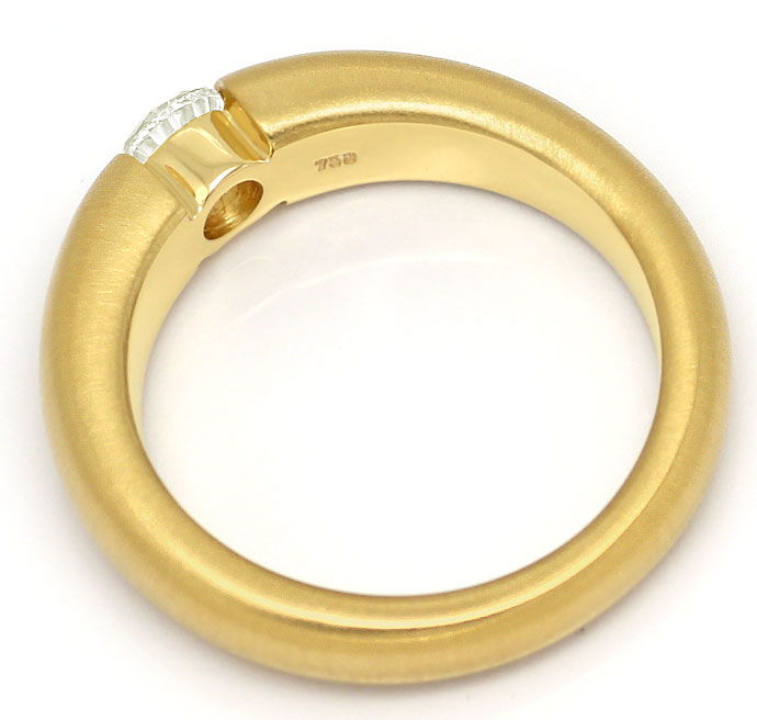 Foto 3 - Massiver Gelbgold Spannring mit 0,45ct Brilliant in 18K, R7109