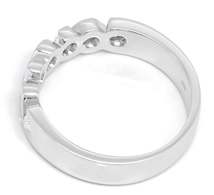 Foto 3 - Allianz Brillianten Ring mit 0,33ct in massiv Weissgold, R7325
