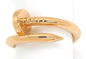 Foto 1, Original Cartier Juste Un Clou Nagelring in Rotgold 18K, R7371