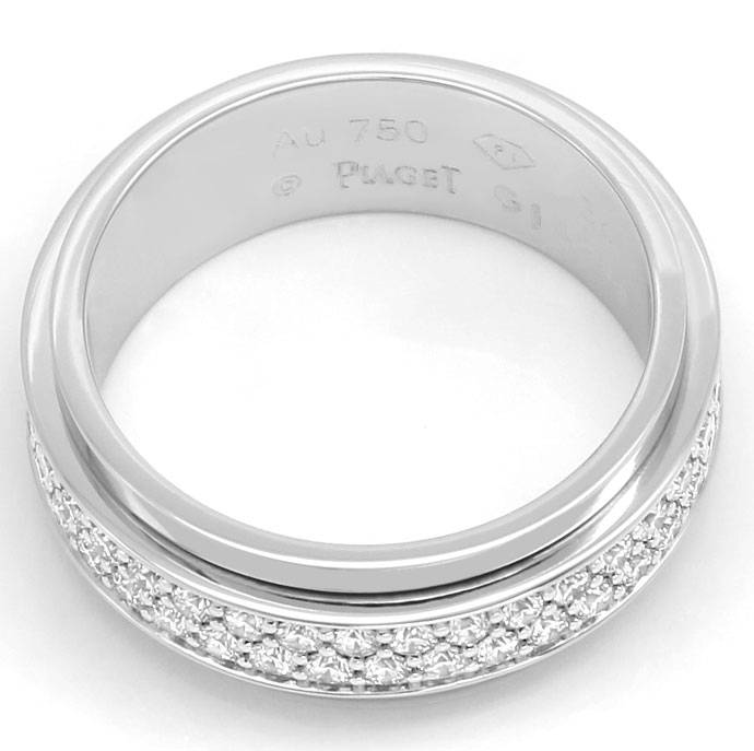 Foto 3 - Beweglicher Piaget Possession Brillanten Ring Weissgold, R7407