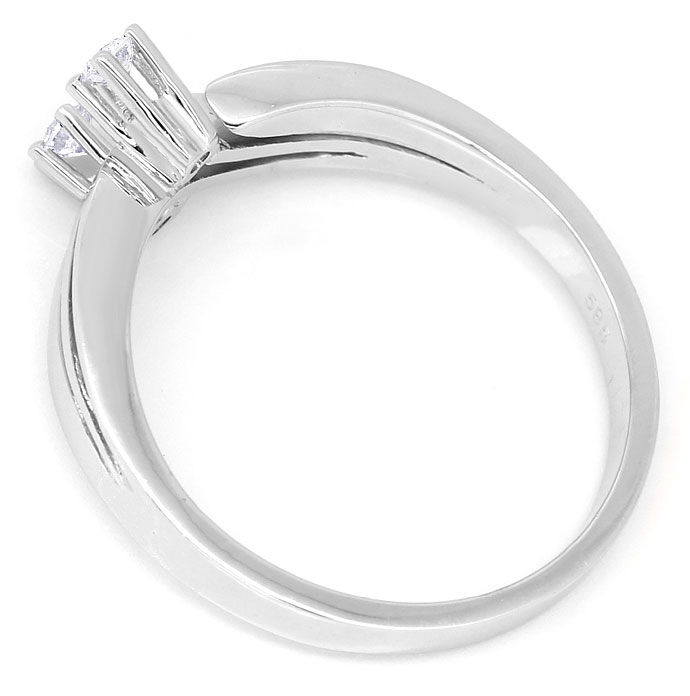 Foto 3 - Attraktiver Diamantring mit 0,125ct Brillanten in 585er, R8484