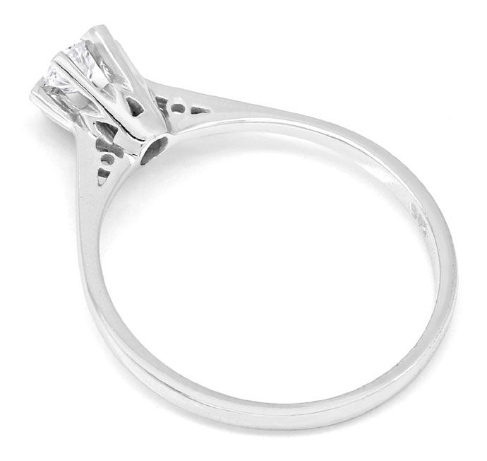 Foto 3 - Diamantring mit 0,20ct Brillant Solitär in 14K Weißgold, R8627