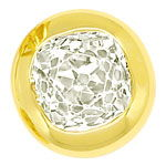 Gelbgold Ohrstecker 0,9ct Diamanten mit toller Brillanz