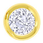Glitzernde 1,02ct Diamanten in Gelbgold Ohrsteckern 18K