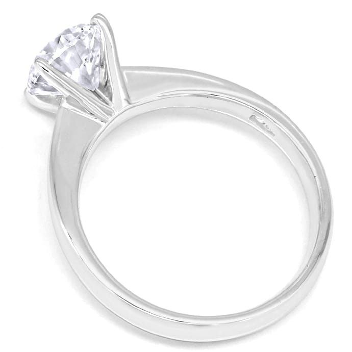 Foto 3 - Brillant Solitär 1,50ct GIA Expertise in Weissgold Ring, R9928