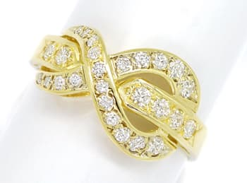 Foto 1 - Design Diamantring Gelbgold mit 0,60ct Brillanten, S1876
