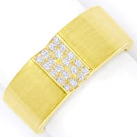 zum Artikel Design Diamantring mit 0,20ct Brillanten 14K Gold, S1913
