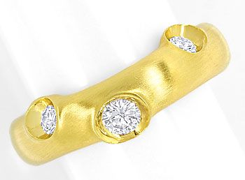 Foto 1, Niessing Diamantring mit 0,43ct Brillanten 18K Gelbgold, S1943